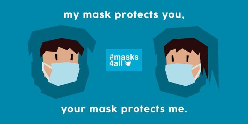 masks4all slogan